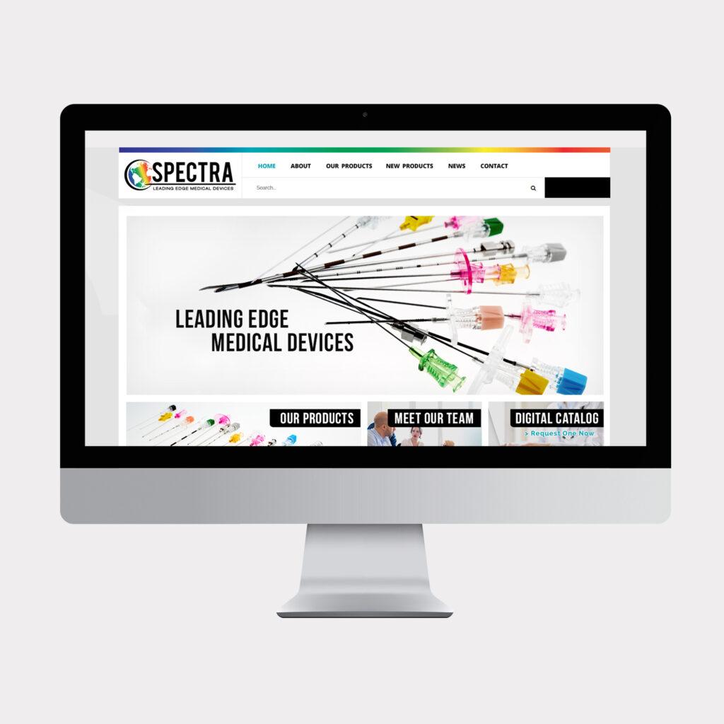Spectra website