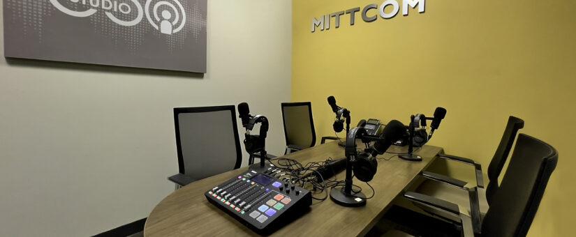 Mittcom podcast studio